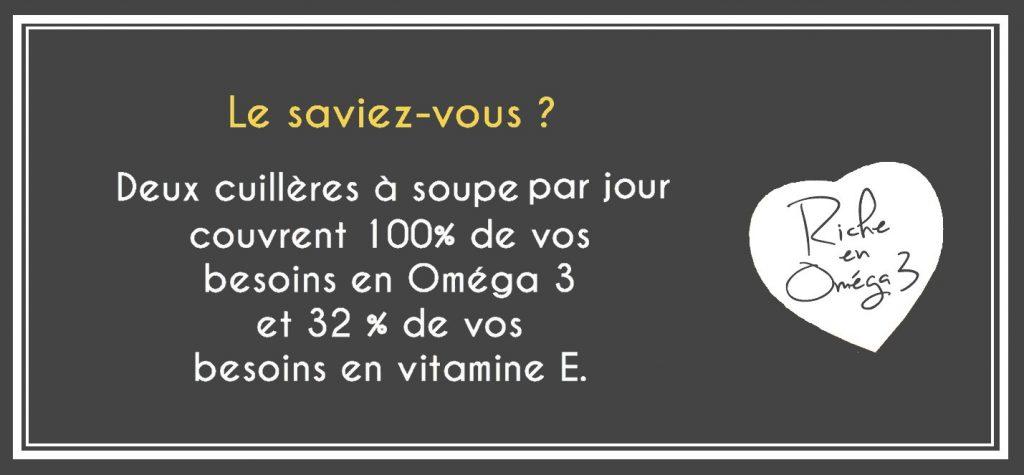 riche omega 3